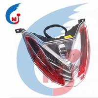 Motorcycle Tail Light Brake Light Of Bajaj Pulsar 135