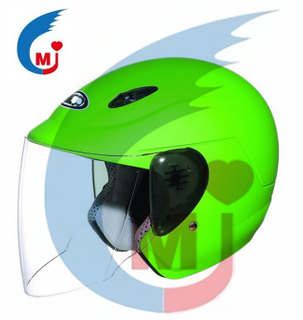 Motorcycle Open Face Helmet with DOT