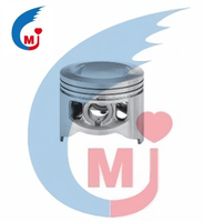 Motorcycle Parts Engine Piston of Bajaj