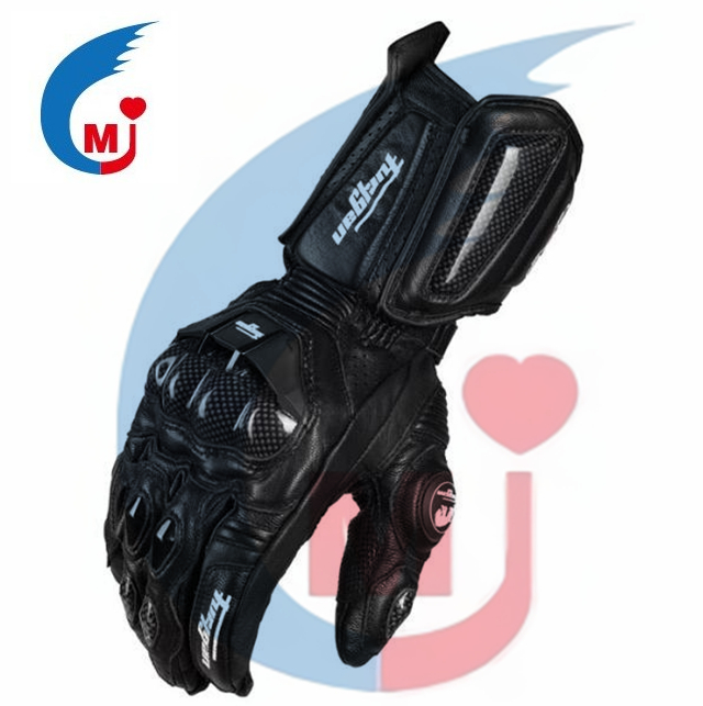 Motorcycle Winter Long Leather Glove